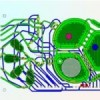 Portable device designed to produce biopharmaceuticals on demand