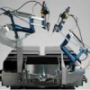 Surgical robot used for the first time to operate inside a man's eyes
