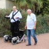 Revolutionary wheelchair offers functional upright mobility on any terrain