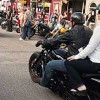 Motorcycle passengers have higher head injury risks than motorcycle drivers
