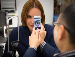 Smartphone snap of the eyelid can detect signs of anaemia