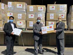 Taiwan, the Vatican collaborate to provide 100,000 facial masks to Africa