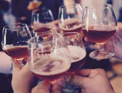 Moderate drinking also bears severe consequences, more so for men