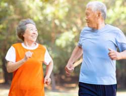 Active older adults have comparatively better physical and mental health