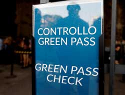 """Italy to make health """"Green Pass"""" mandatory for all workers"""